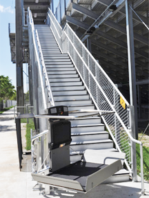 Inclined Platform Lifts. Wheelchair ...