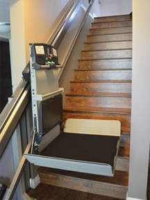 Garaventa X3 Inclined Platform Lift