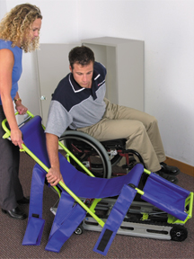 Evacuation Chair transfer picture