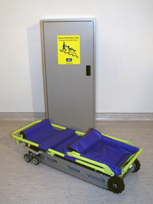 Emergency evacuation stair chair operation picture & Evacuation chairs - operation - Evacu-Trac | Garaventa Lift