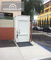 Genesis enclosure disney glendale ca garaventa lift for Garaventa lift