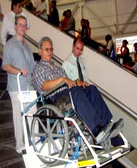 Stair-Trac portable wheelchair lifts picture