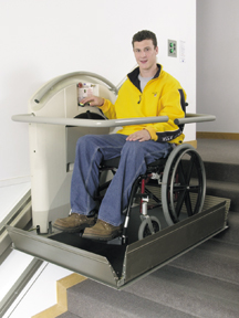 wheelchair lift office picture